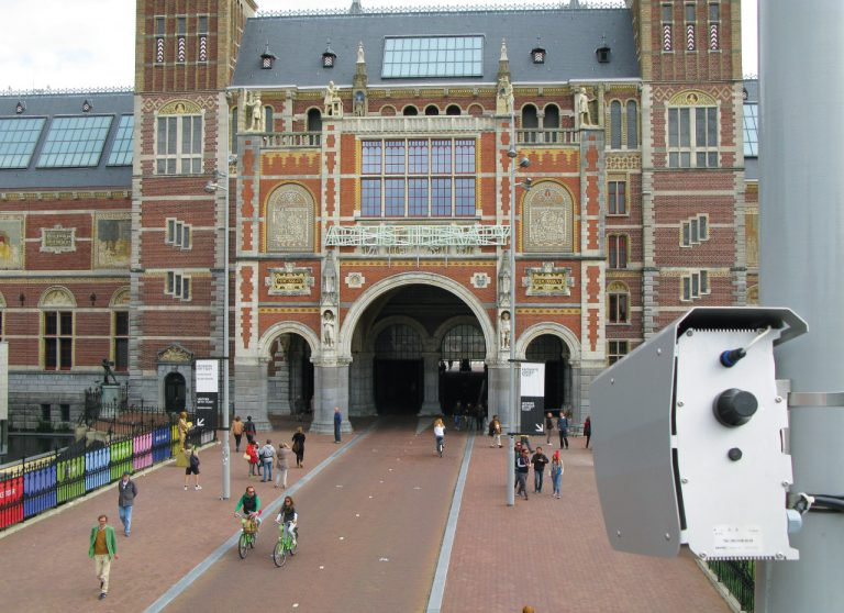 TrafficEnforcement camera - Rijksmuseum Amsterdam